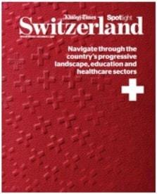 The Kusnacht Practice features in Khaleej Times, Switzerland supplement